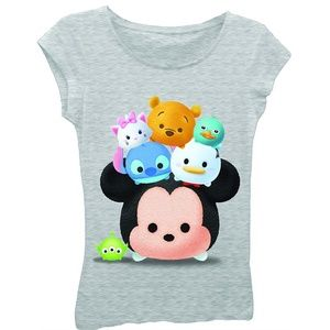 NWT Disney Tsum Tsum Girls T-Shirt M